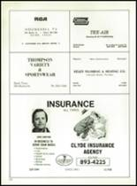 1980 Clyde High School Yearbook Page 176 & 177