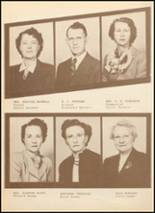 1949 Clyde High School Yearbook Page 14 & 15