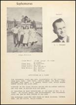 1949 Clyde High School Yearbook Page 54 & 55