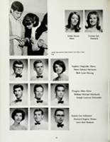 1967 Mount Vernon High School Yearbook Page 72 & 73