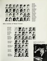 1967 Mount Vernon High School Yearbook Page 126 & 127