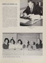 1963 New London High School Yearbook Page 28 & 29