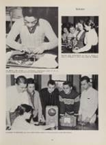 1963 New London High School Yearbook Page 42 & 43