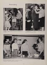 1963 New London High School Yearbook Page 54 & 55