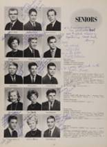 1963 New London High School Yearbook Page 66 & 67