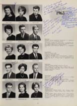 1963 New London High School Yearbook Page 70 & 71