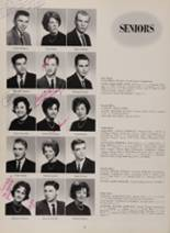 1963 New London High School Yearbook Page 74 & 75