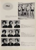 1963 New London High School Yearbook Page 76 & 77