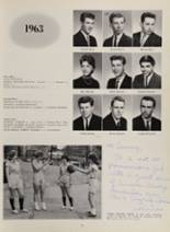 1963 New London High School Yearbook Page 80 & 81