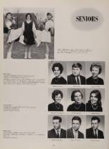 1963 New London High School Yearbook Page 88 & 89