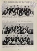 1963 New London High School Yearbook Page 94 & 95