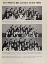 1963 New London High School Yearbook Page 100 & 101