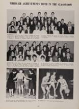 1963 New London High School Yearbook Page 104 & 105