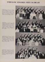 1963 New London High School Yearbook Page 112 & 113