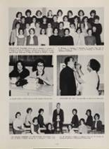 1963 New London High School Yearbook Page 128 & 129