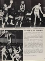 1963 New London High School Yearbook Page 156 & 157