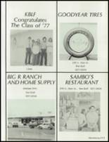 1977 Red Bluff Union High School Yearbook Page 216 & 217