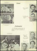 1955 El Campo High School Yearbook Page 14 & 15