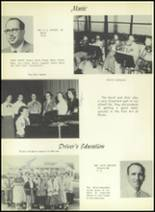 1955 El Campo High School Yearbook Page 20 & 21