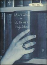 1955 El Campo High School Yearbook Page 22 & 23