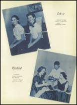 1955 El Campo High School Yearbook Page 24 & 25