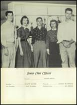 1955 El Campo High School Yearbook Page 36 & 37