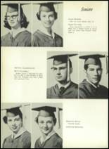 1955 El Campo High School Yearbook Page 38 & 39