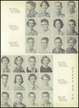 1955 El Campo High School Yearbook Page 56 & 57