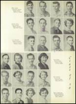 1955 El Campo High School Yearbook Page 58 & 59