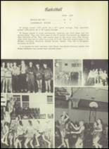1955 El Campo High School Yearbook Page 100 & 101