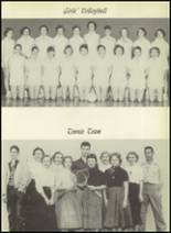 1955 El Campo High School Yearbook Page 104 & 105