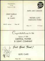 1955 El Campo High School Yearbook Page 114 & 115