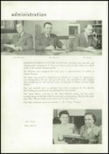 1947 Mount Vernon High School Yearbook Page 16 & 17