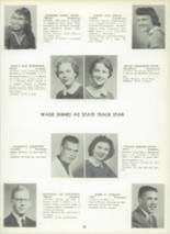 1957 Lewistown High School Yearbook Page 28 & 29
