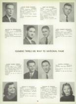 1957 Lewistown High School Yearbook Page 40 & 41