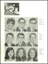 1968 Olean High School Yearbook Page 38 & 39