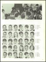 1968 Olean High School Yearbook Page 66 & 67