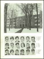 1968 Olean High School Yearbook Page 68 & 69