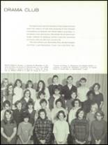 1968 Olean High School Yearbook Page 152 & 153