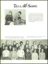 1968 Olean High School Yearbook Page 154 & 155