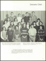 1968 Olean High School Yearbook Page 160 & 161
