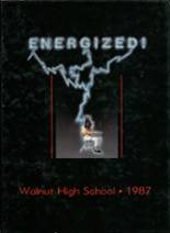 1987 Yearbook Walnut High School