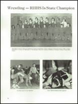 1980 Rock Hill High School Yearbook Page 198 & 199