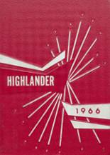 1966 Yearbook Highland High School