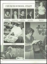 1989 Forest Park Christian School Yearbook Page 16 & 17
