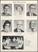 1963 Clyde High School Yearbook Page 10 & 11