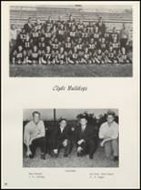 1963 Clyde High School Yearbook Page 56 & 57