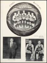 1963 Clyde High School Yearbook Page 60 & 61
