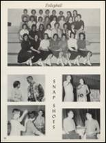 1963 Clyde High School Yearbook Page 70 & 71