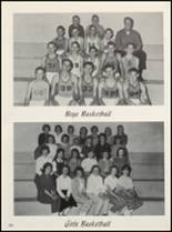 1963 Clyde High School Yearbook Page 108 & 109